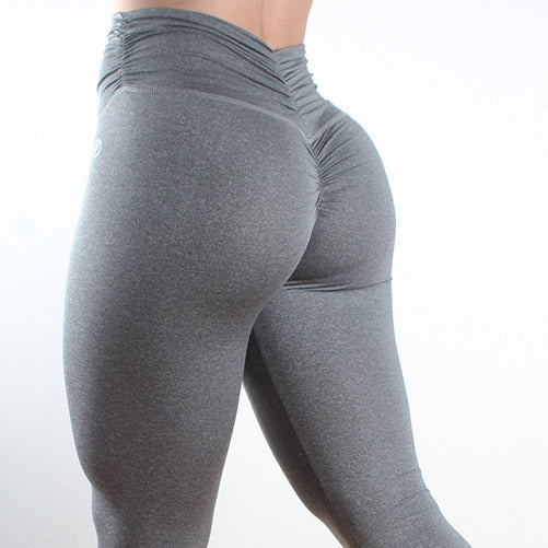 Scrunch Me Up Gray - fitnessvaatteet