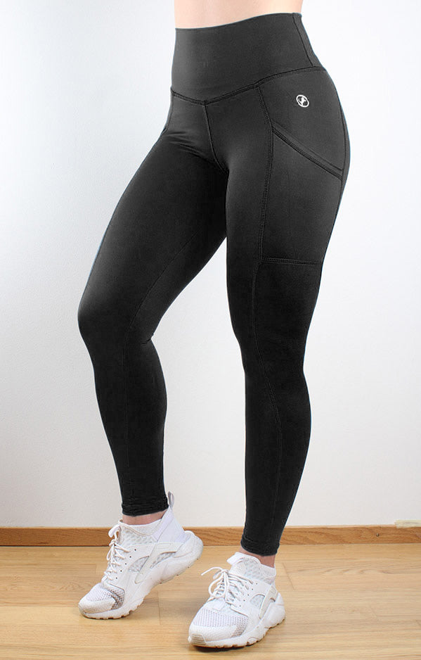 Perfect Pockets Black - fitnessvaatteet