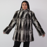 Chinchilla ¾ coat