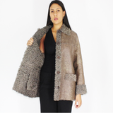 Exclusive Wieckie lamb jacket