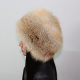 Golden fox hat