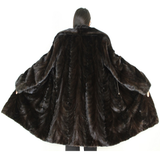 NI Ranch mink pat coat