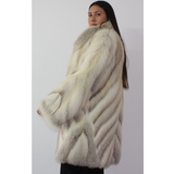 NI Crystal fox  coat