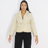 Astrakhan Broadtail Pearl jacket