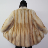 Golden fox 3/4 coat