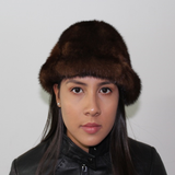 Brown Mink hat