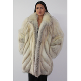 Crystal fox  coat