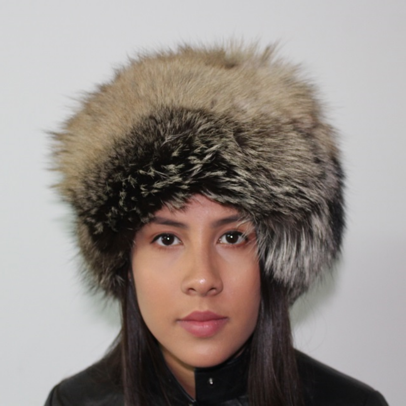 Crystal fox hat