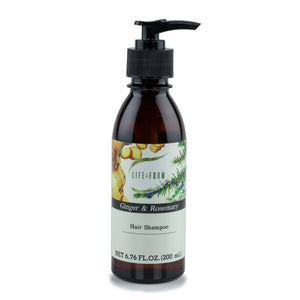 Ginger & Rosemary Hair Shampoo