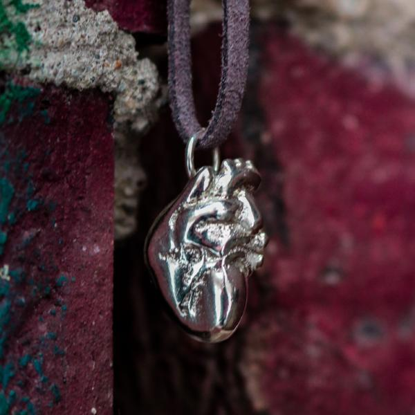 Bam Margera Anatomical Heart Pendant