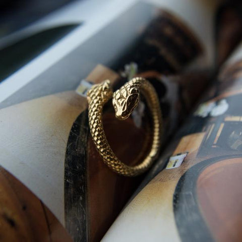 Bam Margera Serpent Ring
