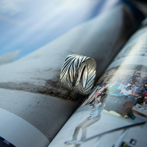Bam Margera Feather Ring