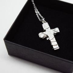 Bam Margera Thorned Cross Necklace - Bam Margera Merchandise