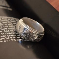 4Moon Spinner Ring
