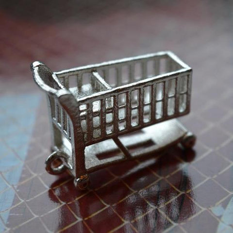 Bam Margera shopping cart 3D Pendant