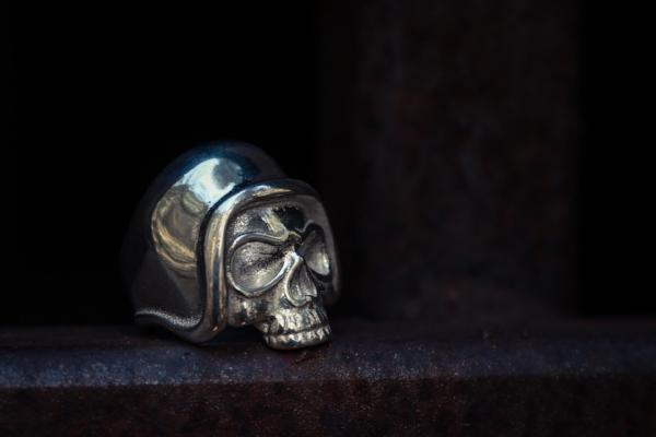 Bam Margera Safety First Skeleton Ring - Bam Margera Merchandise