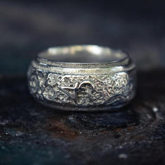 Bam Margera 4Moon Spinner Ring