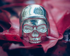 Bam Margera Safety First Skeleton Ring