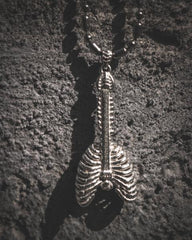 Bam Margera Skeleton Guitar Pendant