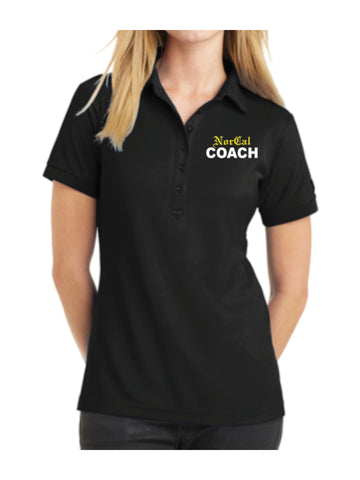 Coach Polo Tech Tee - Women's
