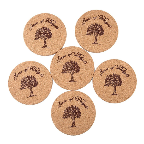 Lot de 6 dessous de verre Tree 2