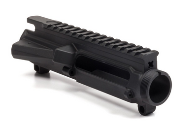 AERO - M4E1 Threaded Stripped Upper Receiver - Anodized Black