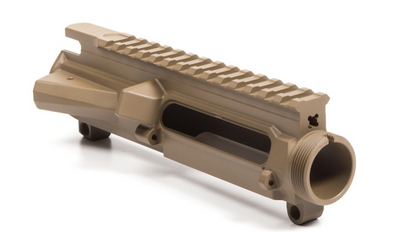 AERO - M4E1 Threaded Stripped Upper Receiver - FDE Cerakote