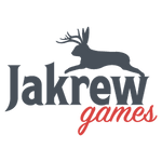 Jakrew logo with jackalope mark