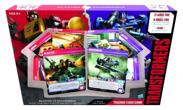 Transformers TCG Blaster VS Soundwave