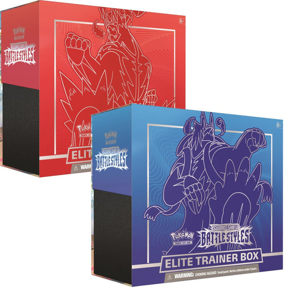 Pokémon TCG SS5 Battle Styles Elite Trainer Box