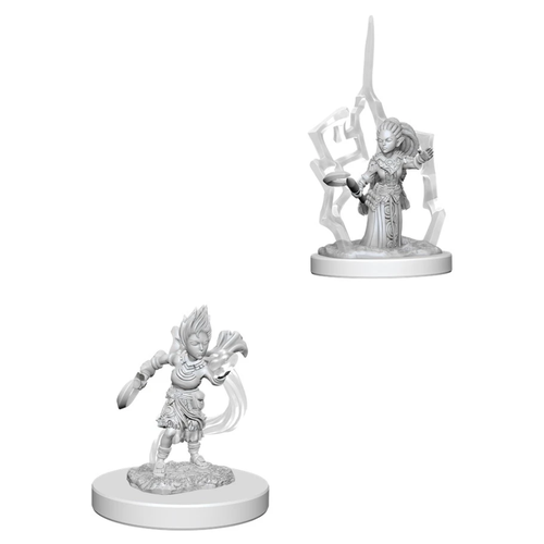 Pathfinder Battles Deep Cuts Unpainted Minis: W5 Gnome Female Druid
