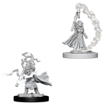 Pathfinder Battles Deep Cuts Unpainted Minis: W5 Gnome Female Sorcerer