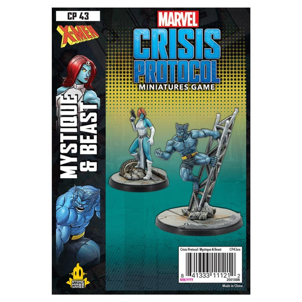 Marvel: Crisis Protocol - Mystique And Beast