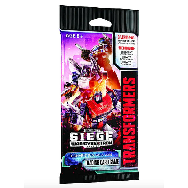 SDCC 2019 Transformer TCG Convention Expansion pack - Omnibots Set