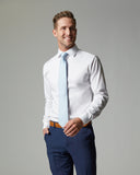 Tempo Stretch Slim Fit Non-Iron Dress Shirt by CTR Clothing