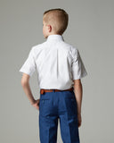 Boys Athletic Fit Dress Shirt by CTR Clothing