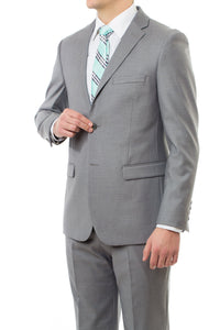 Light Grey Mormon Suit By Modern Missionary