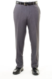 Men's Missionary Dress Pants In Charcoal With Mormon Suit
