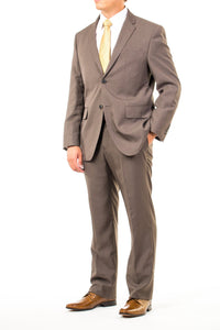 Stylish Taupe Modern Fit Missionary Suit From CTR Clothing