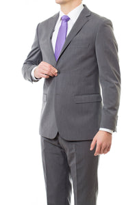 Fashionable Slim Fit Charcoal LDS Missionary Suit