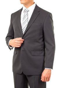 Durability And Freedom In One Black Pinstripe Mormon Suit