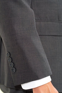 Charcoal Pinstripe Lightweight Mormon Suit