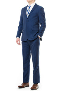 French Blue Slim Fit Mormon Suit For The Modern Missionary