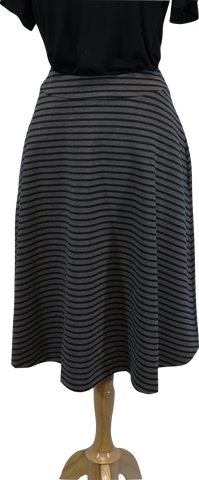 Allez Faire Striped Skirt