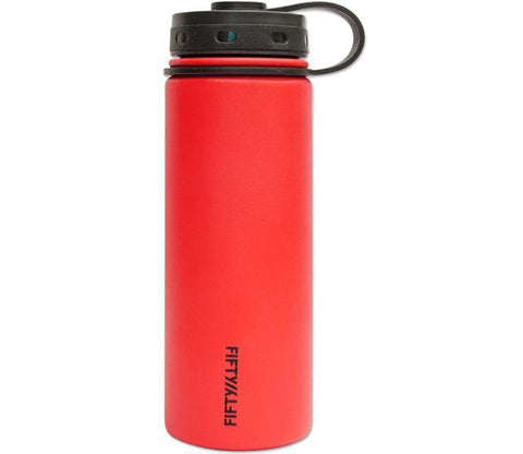 Fifty Fifty 18oz DOUBLE-WALL VACUUM-INSULATED WATER BOTTLES - The Kater Shop - 1