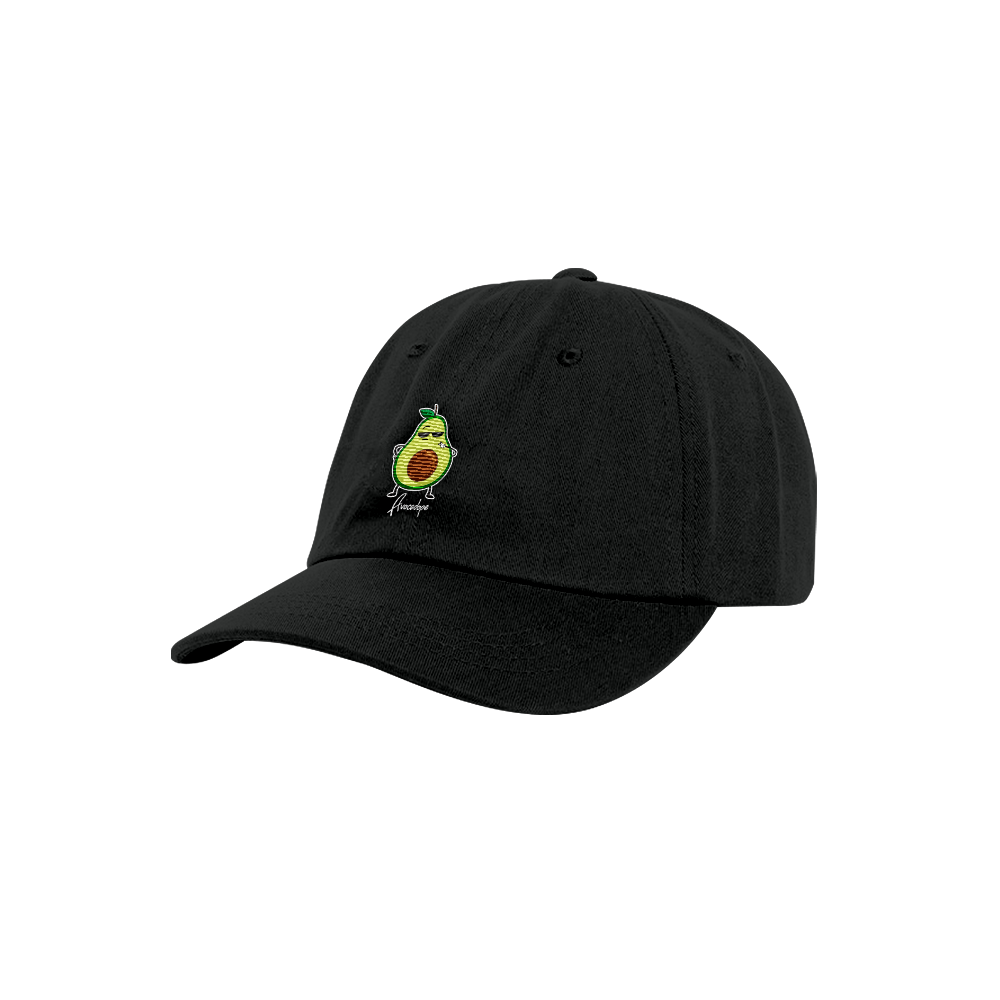 Avocado Hat Black