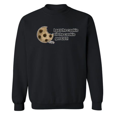 Clayton Thomas Cookie Crewneck Sweatshirt
