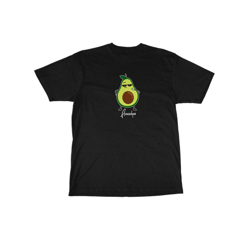 Avocado Tee Black