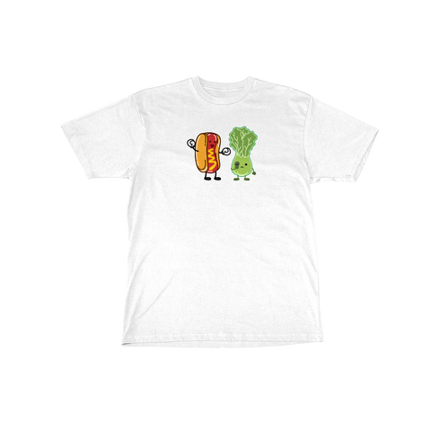 Hot Dog vs Salad Tee