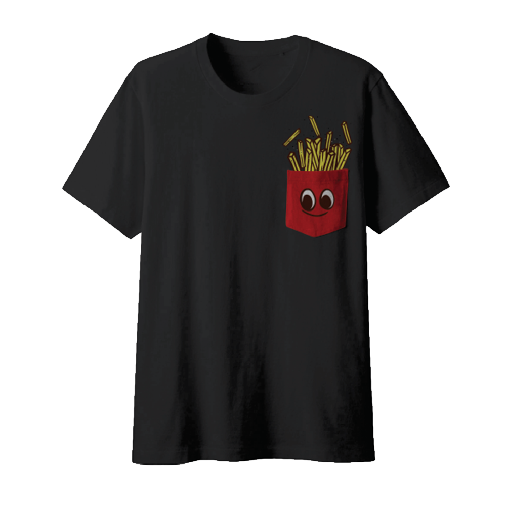 Top Food News Fries Tee